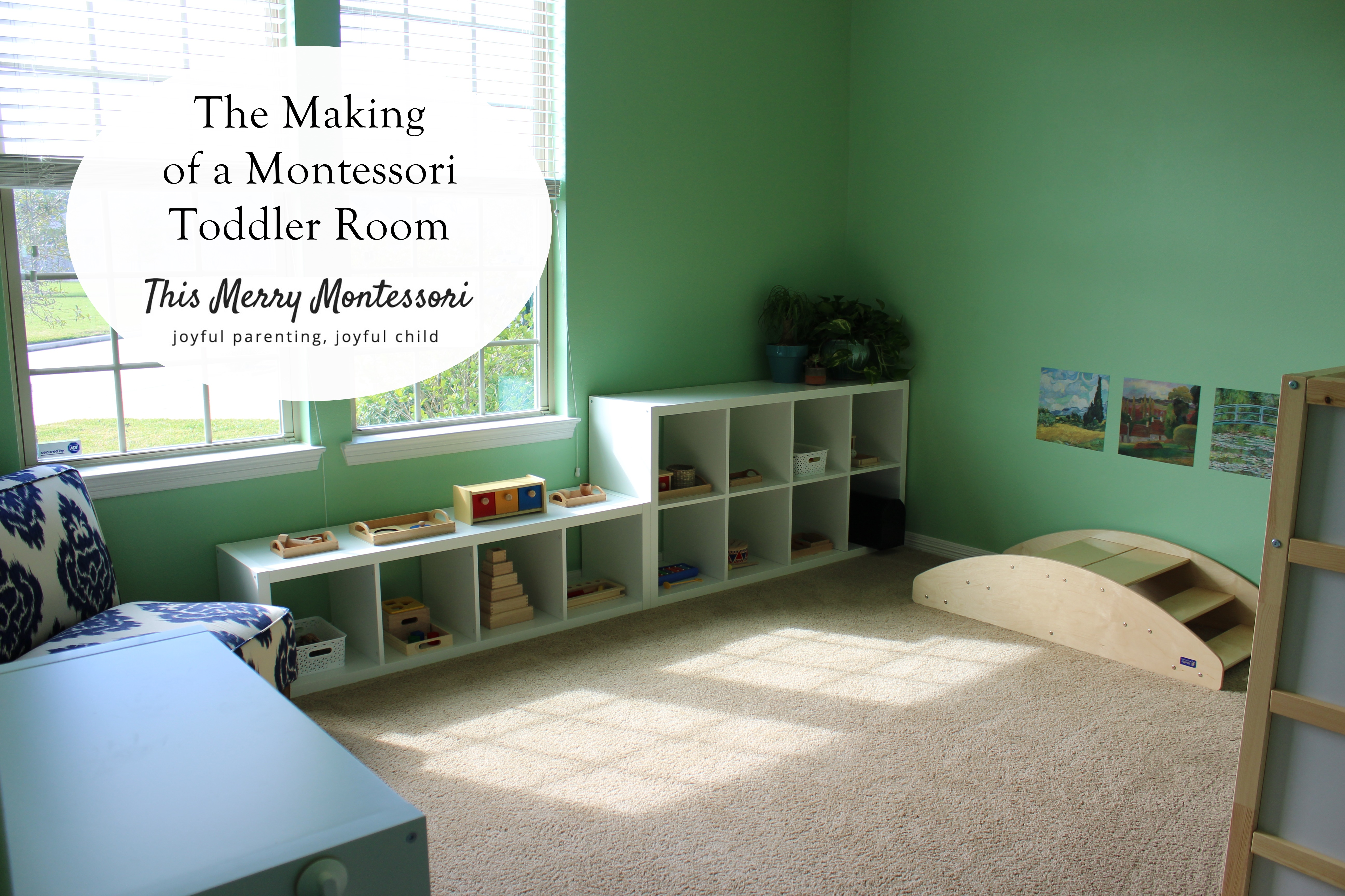 The Making Of A Montessori Toddler Room This Merry Montessori