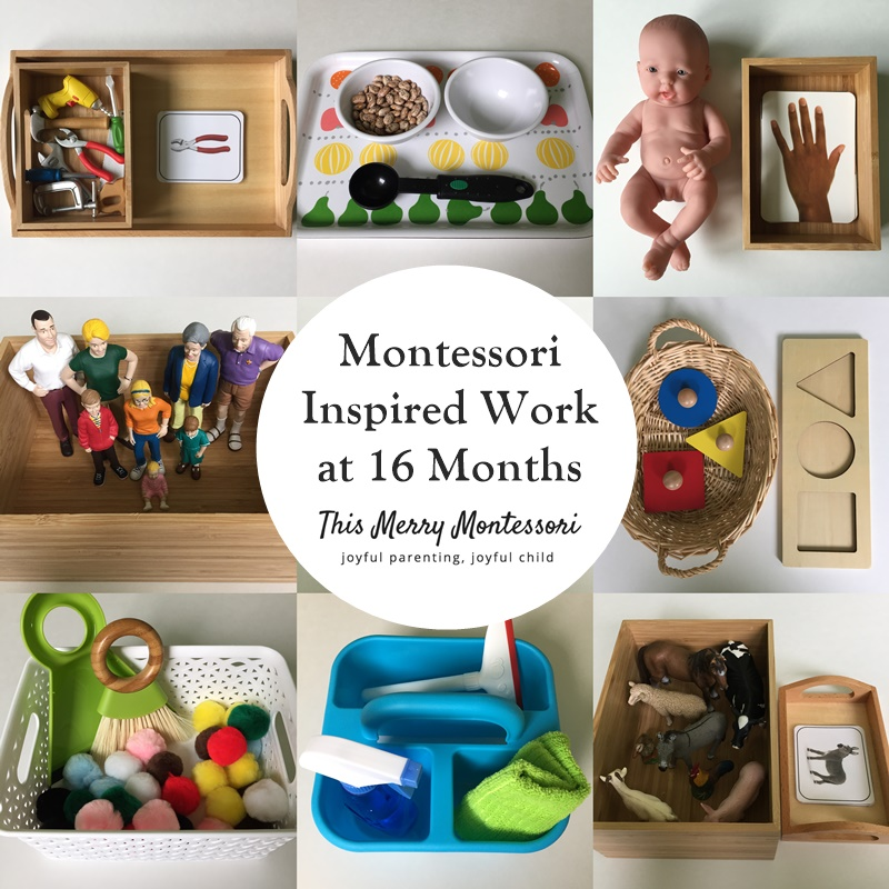 Sensory Toys For 12 Month Old : What s on our work shelves this merry montessori