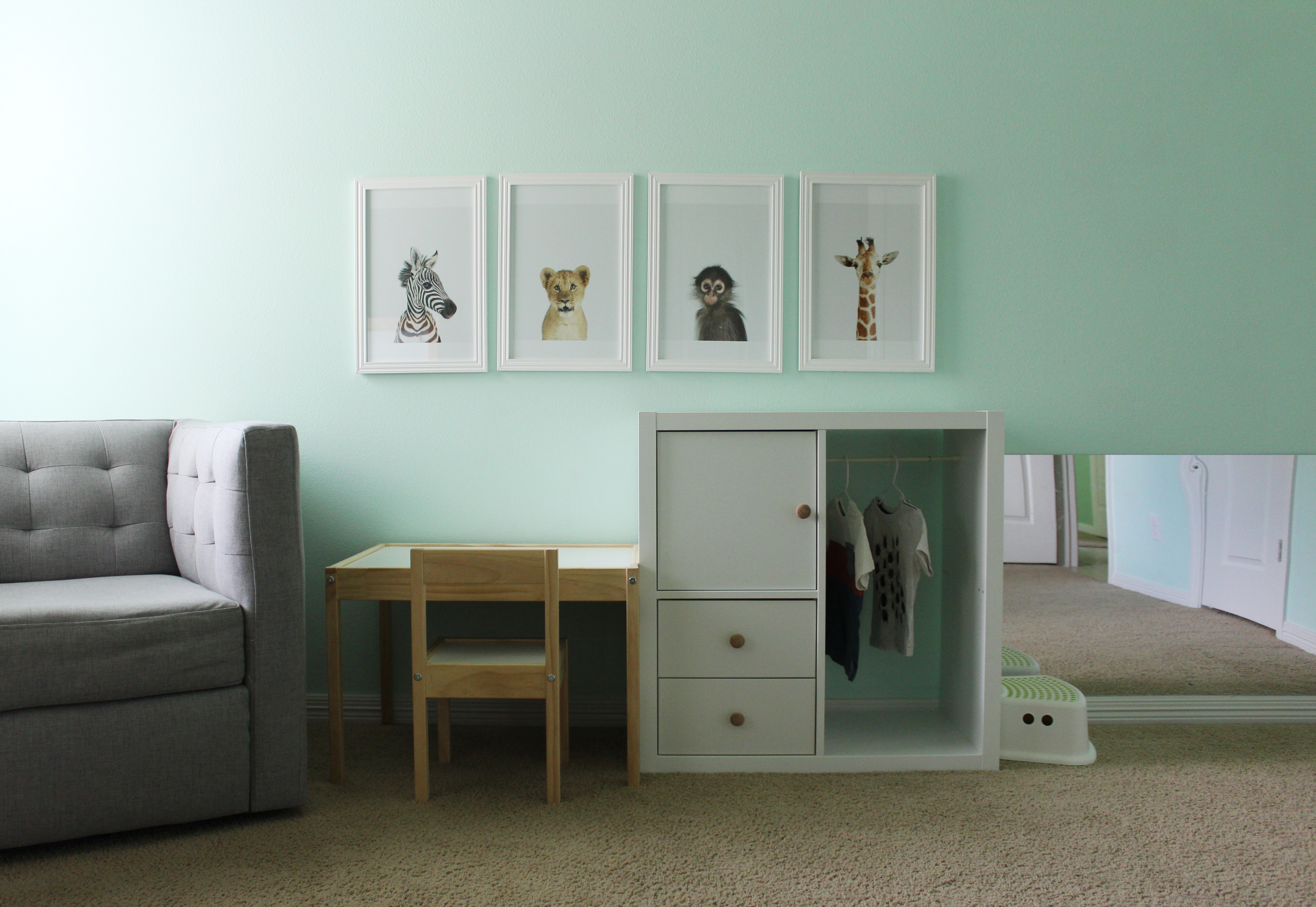 Montessori Inspired Bedroom At 18 Months This Merry Montessori