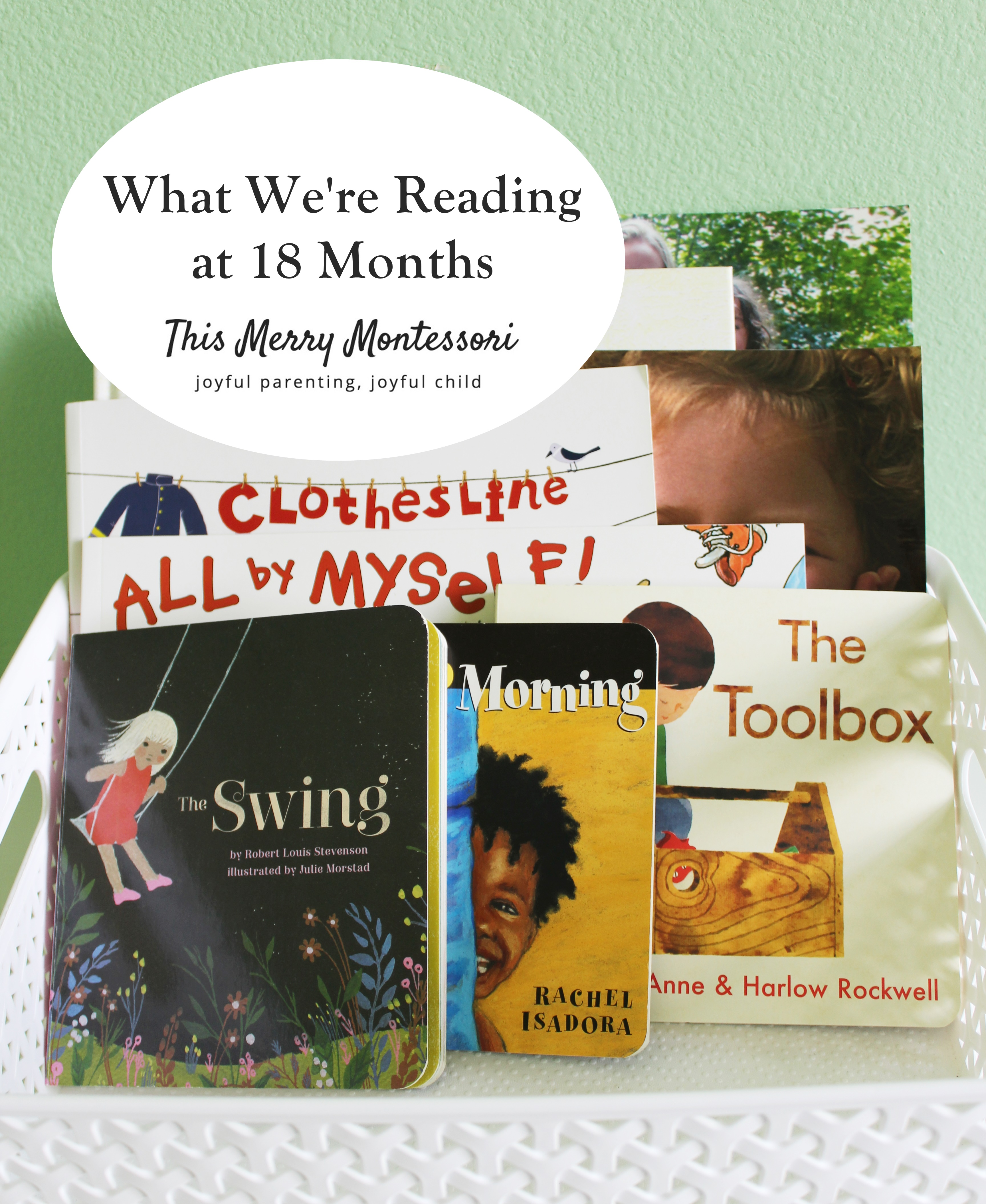 What We're Reading at 18 Months--This Merry Montessori